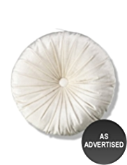 Round Button Cushion