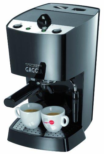 Gaggia 102532 Espresso-Pure Semi-Automatic Espresso Machine, Black