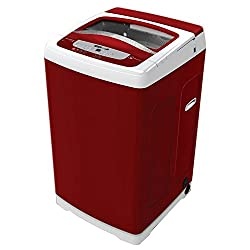 Electrolux ET62ESPRM Fully-automatic Top-loading Washing Machine (6.2 Kg, Red)