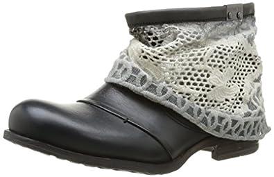 Bunker Mia, Boots femme - Noir (Carbon), 41 EU