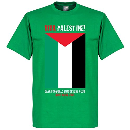 Viva Palestine T-Shirt - Green - XXL (Palestine Football Jersey compare prices)