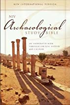 NIV Archaeological Study Bible-HC by…