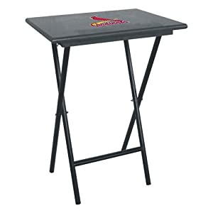 St. Louis Cardinals MLB TV Tray Set with Rack - IMP-86-2008 by Imperial Billiards