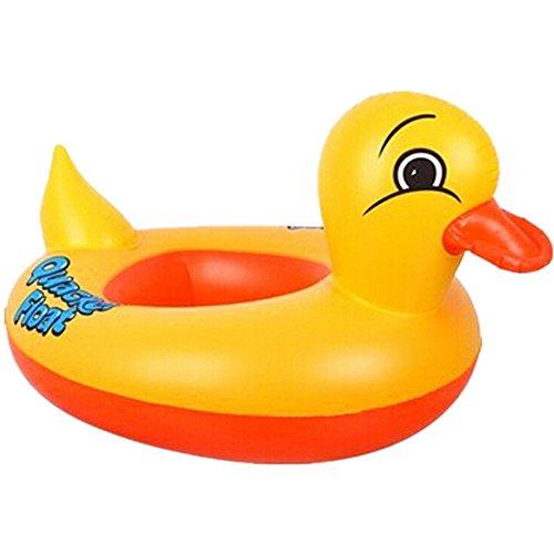 eastlion baby aufblasbare gelbe ente schwimmdock spielzeug. Black Bedroom Furniture Sets. Home Design Ideas