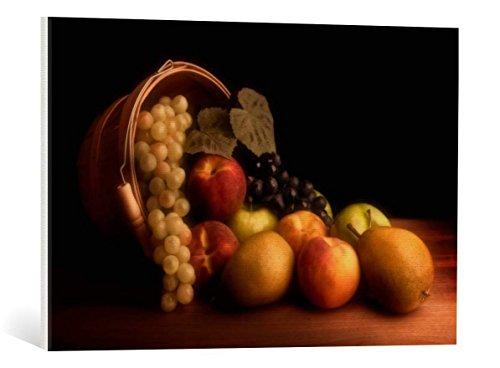 canvas-print-tom-mc-nemar-basket-of-fruit-high-quality-fine-art-print-canvas-on-stretcher-ready-to-h