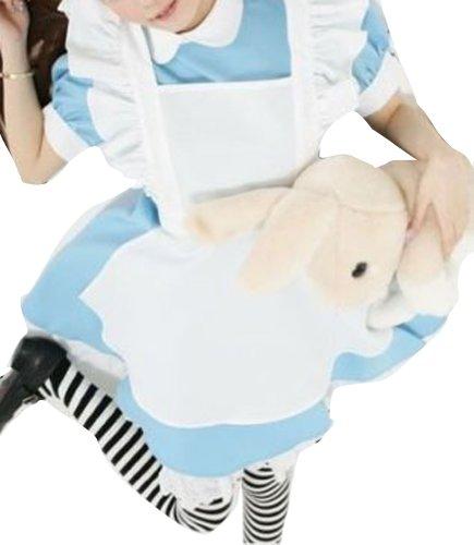 Women Dress Cosplay Costume Halloween Party Dress Alice In Wonderland Girl