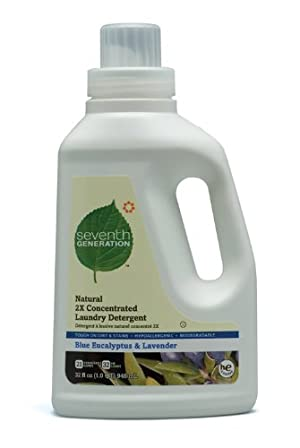 Seventh Generation 2X Conc., Blue Eucalyptus/Lavender, 32-Ounce