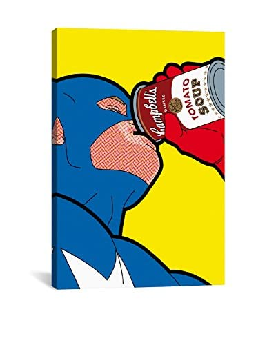 Captain-Campbell Gallery-Wrapped Canvas Print