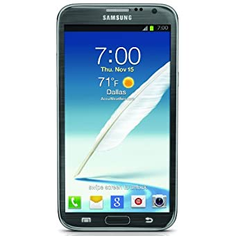 Samsung Galaxy Note II 4G Android Phone (Titanium, Sprint)