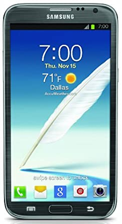 Samsung Galaxy Note II, Titanium Gray 16GB (Sprint)