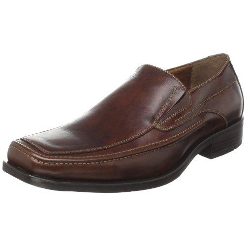 Johnston & Murphy Men's Glenager Moc Slip On Loafer,Brown ,10 M US