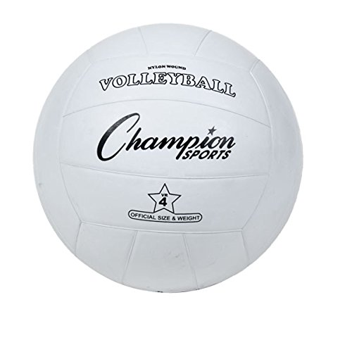 Champion Sports Rubber Cover Volleyball