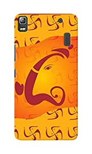 CimaCase Lord Ganesha Designer 3D Printed Case Cover For Lenovo K3 Note