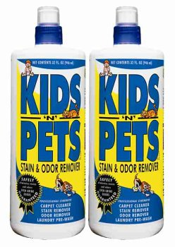 Kids'N Pets All-Purpose Stain & Odor Remover, 32 oz