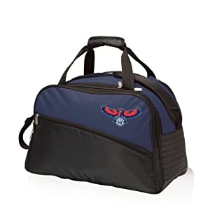 NBA Atlanta Hawks Tundra Insulated Cooler Duffel Bags, Navy by Picnic Time