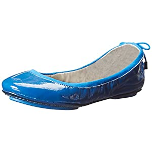 Maria Sharapova Collection by Cole Haan Women's Air Bacara Ballet Flat,Empire Blue Patent,9.5 B US
