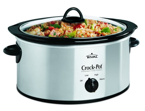 Crock-Pot Scv400-Ss 4-Quart Slow Cooker, Stainless Steel