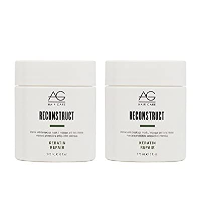 "AG Hair Keratin Repair Reconstruct Mask 6oz ""Pack of 2"""