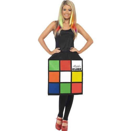 Déguisement de rubiks cube pour femme