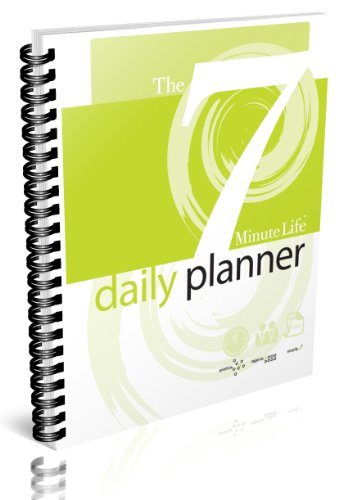 7-Minute Life Daily Planner: PERPETUAL ENGAGEMENT CALENDAR