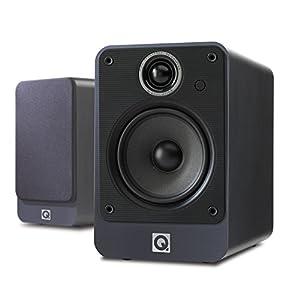 Q Acoustics 2020I Bookshelf Speaker Stereo - (Pair) (Graphite)