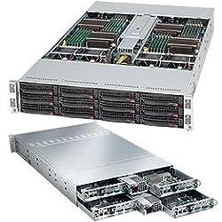 Supermicro SuperChassis CSE-827H-R1400B - System Cabinet - Rack-mountable - Power Supply - 1400 Watt