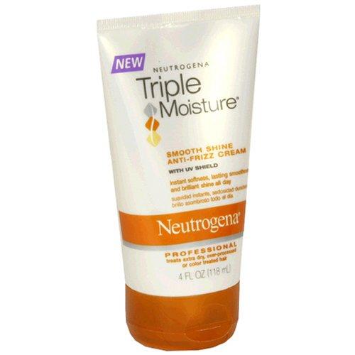 Neutrogena Triple Moisture Smooth Shine Anti-Frizz Cream, 4