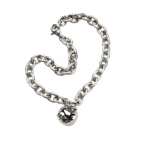 D & G Jewels Dj0878 Stainless Steel Necklace, D & G Apple Charm