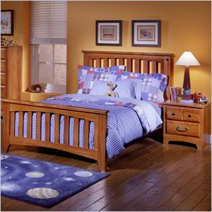Cheap Standard Furniture Standard City Park Kids Slat Bed 2 Piece Bedroom Set (B003D3YY8A)