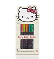5 Hello Kitty Highlighter Pens
