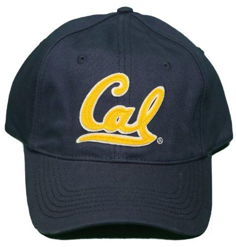 New! University Of California Golden Bears - Adjustable Buckle Back Cap - Navy
