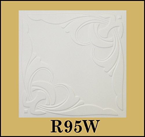tin-look-glue-up-ceiling-tiles-20x20-styrofoam-extruded-polystyrene-r95w-lot-of-8
