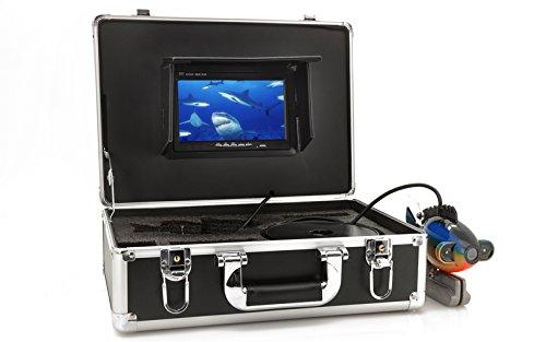 High-Tech Place Kit caméra sous marine pour la pêche, moniteur 7, 20m de câble