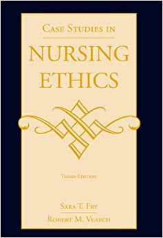 nursing ethics case study We provide an anonymised 'ethics case' to examine one difficult decision made  by a  correspondence: ann gallagher, reader in nursing ethics, international.