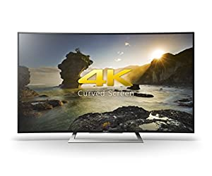 Sony Bravia KD50SD8005BU 50-Inch Curved Android 4K Ultra HD Smart TV with Youview/Freeview HD/PlayStation Now - Black