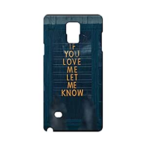 BLUEDIO Designer Printed Back case cover for Samsung Galaxy Note 4 - G6363