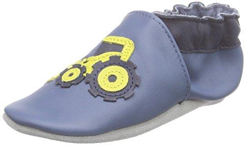 Robeez Street Adventur, nascita bambino scarpe, Blu (Blue (Denim Blue 53)), 6-12 Mesi Bambino UK