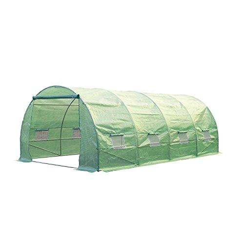 Outsunny-20-x-10-x-7-Portable-Walk-In-Garden-Greenhouse-Deep-Green