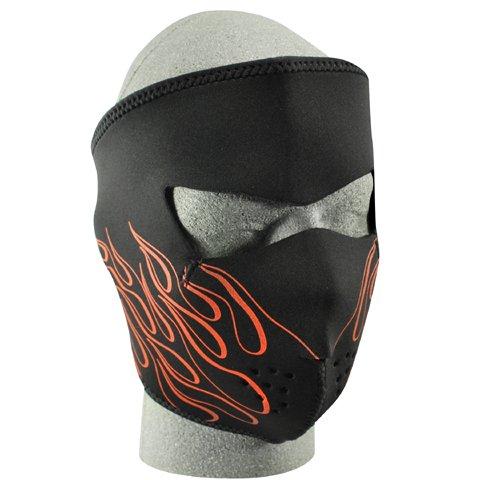 Zan-Headgear-Orange-Flame-Full-Face-Neoprene-Face-Mask