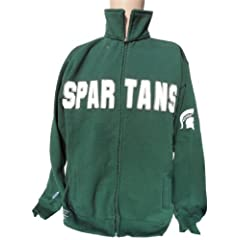 NCAA Michigan State Spartans Full Zip Sweatshirt by Donegal Bay