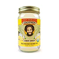 Ziggy Marley Organics Coconut Oil - Lemon Ginger Flavor - 14 oz