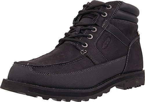 KEEN Men's The Ace WP Casual Boot, Black, 9 M US (Keen Insulated Boots For Men compare prices)