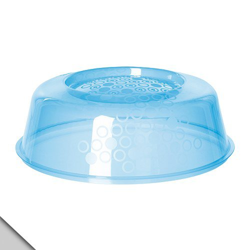 Ikea - Prickig Microwave Lid Cover, Blue (X1)