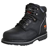 "Hot Sale Timberland PRO Men's Pitboss 6"" Steel-Toe Boot,Black,10.5 M"