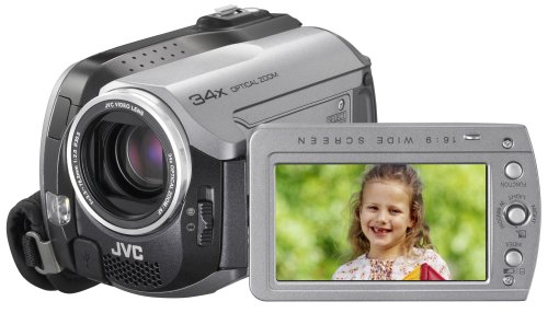 JVC Everio GZMG130 30GB Hard Disk Drive Camcorder with 34x Optical Zoom