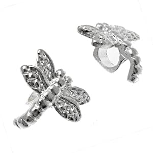 Acosta Jewellery Beads - Dragonfly Spacer Bead - Slide On and Off (Set of 2)