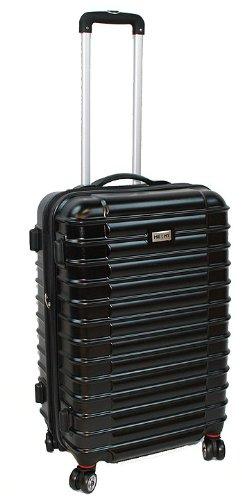 Koffer Trolley Reisekoffer Hartschale 55 cm Schwarz