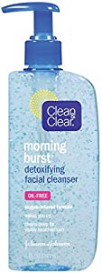 Clean & Clear Morning Burst Detoxifying Facial Cleanser, 8 Fluid Ounce