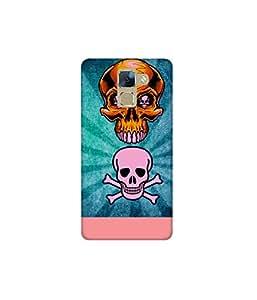 Kolor Edge Printed Back Cover For Huawei Honor 7 - Multicolor (4516-Ke11245Honor7Sub)