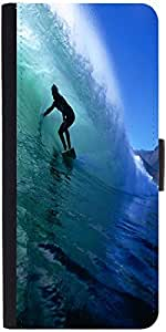 Snoogg Surfer Style 2 Designer Protective Phone Flip Case Cover For Htc Desire 820G Plus